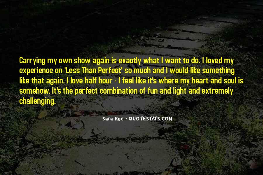 Sara Rue Quotes #237255
