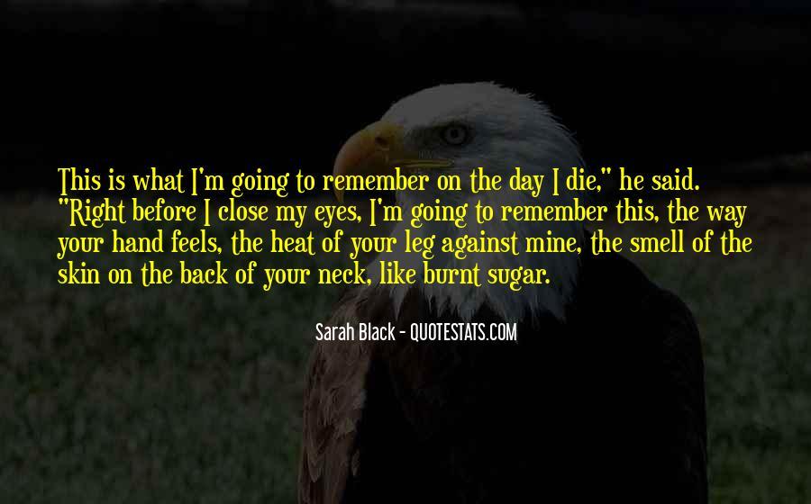 Sarah Black Quotes #14888