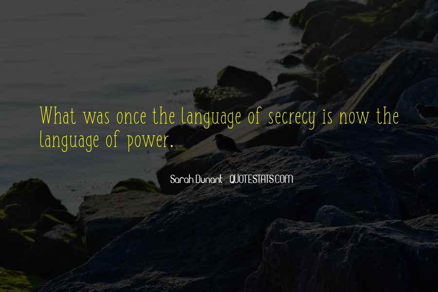 Sarah Dunant Quotes #86539