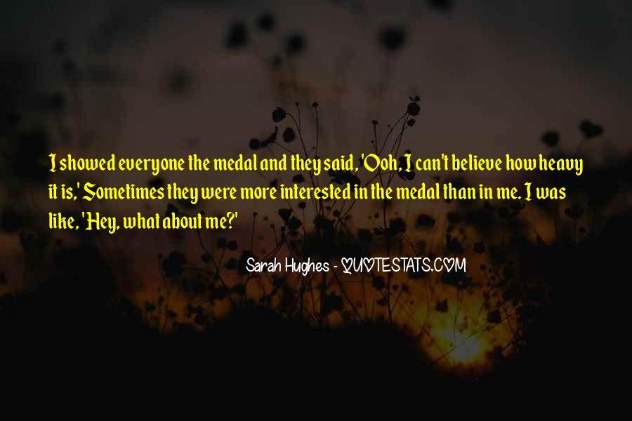 Sarah Hughes Quotes #1564063