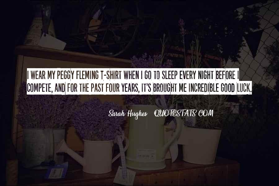 Sarah Hughes Quotes #232994