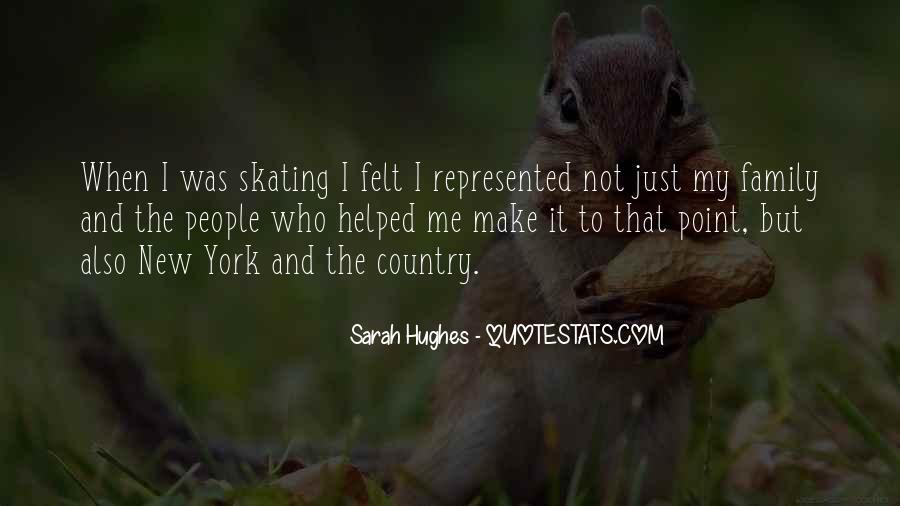 Sarah Hughes Quotes #517396