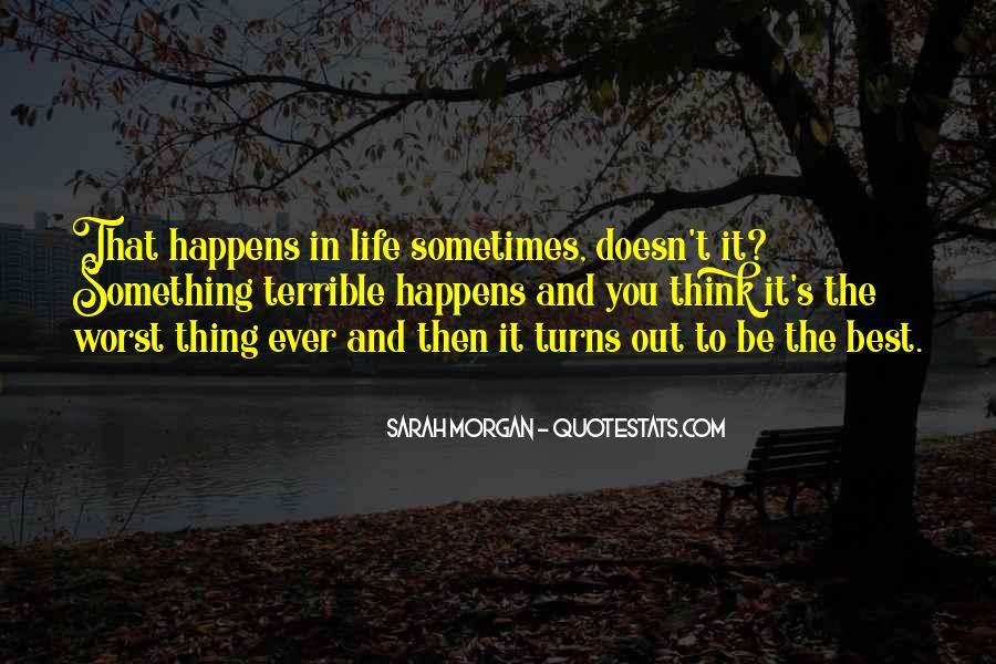 Sarah Morgan Quotes #1576338
