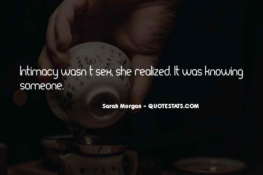 Sarah Morgan Quotes #1587241