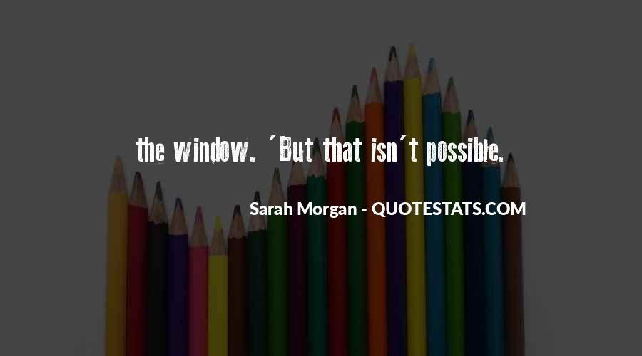 Sarah Morgan Quotes #1871989