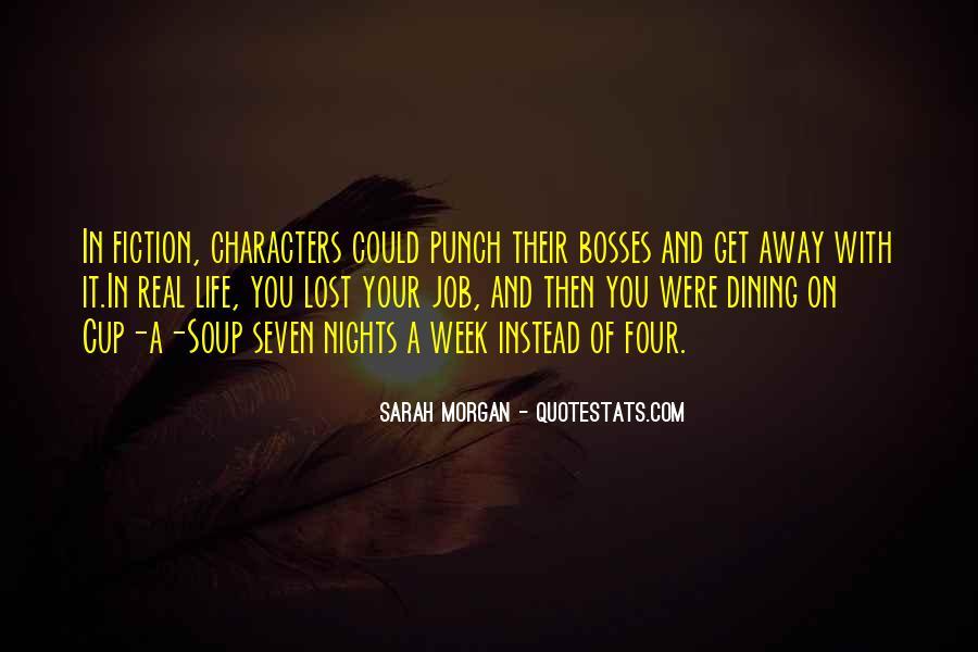 Sarah Morgan Quotes #455366