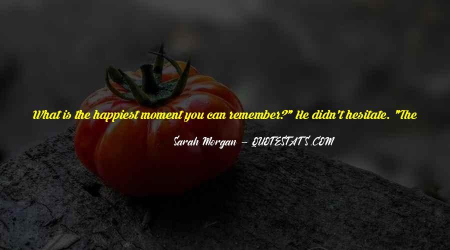 Sarah Morgan Quotes #812756