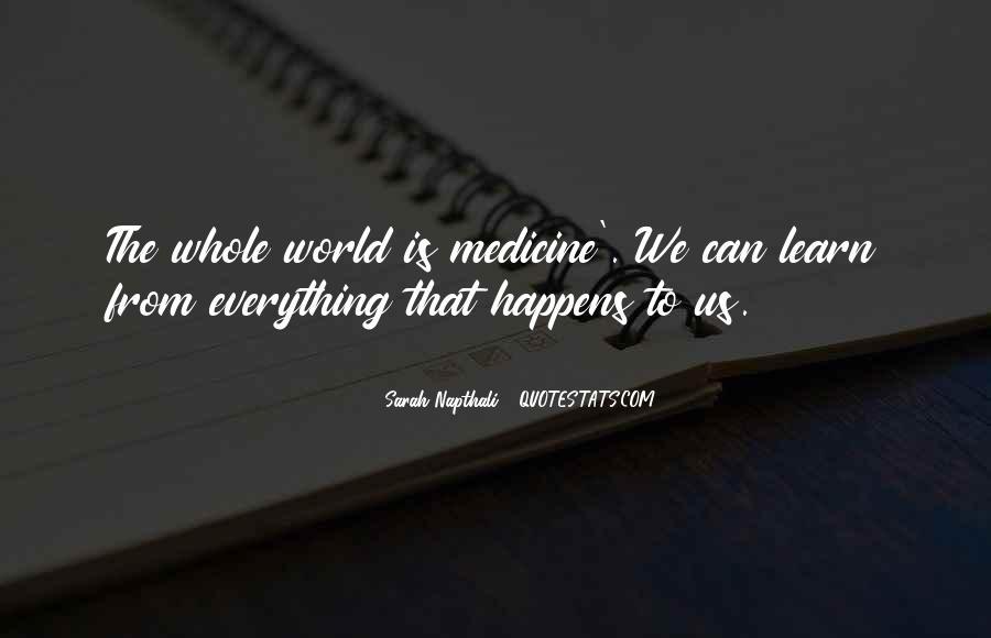 Sarah Napthali Quotes #1878740