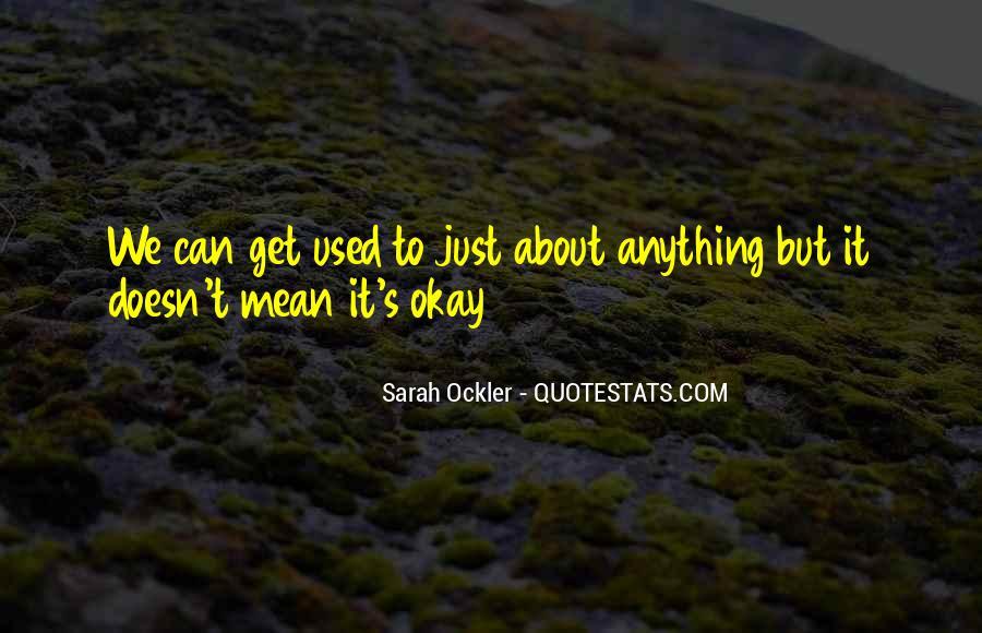 Sarah Ockler Quotes #1030576
