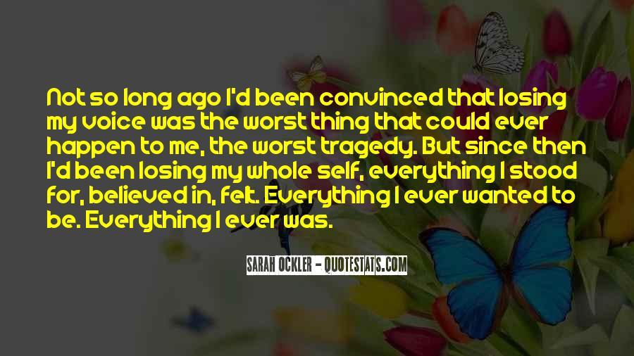 Sarah Ockler Quotes #13826