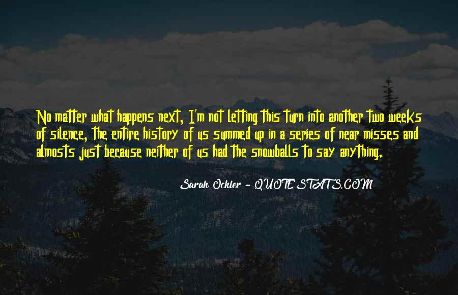 Sarah Ockler Quotes #1533524