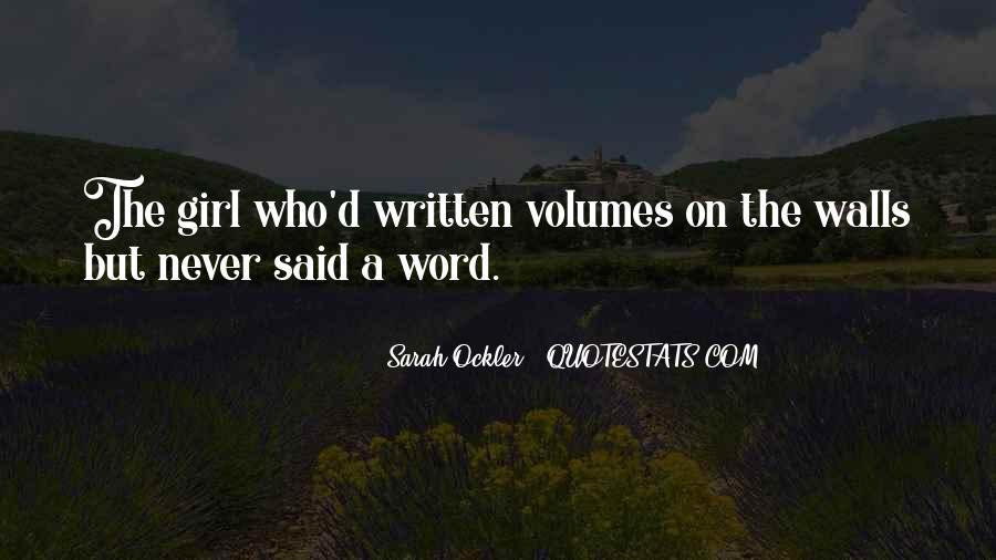 Sarah Ockler Quotes #1626685