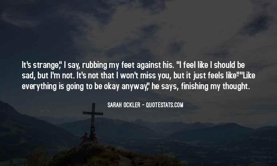 Sarah Ockler Quotes #1696807