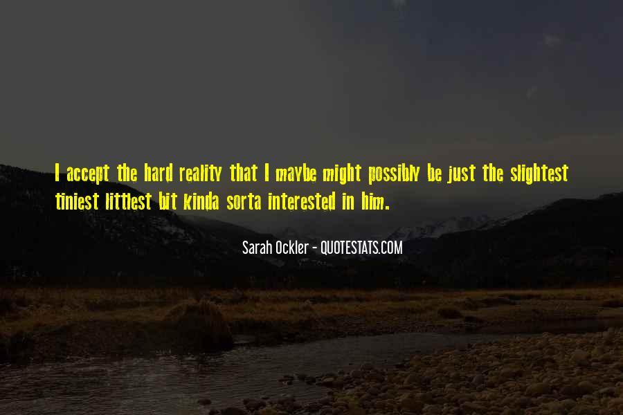 Sarah Ockler Quotes #190324