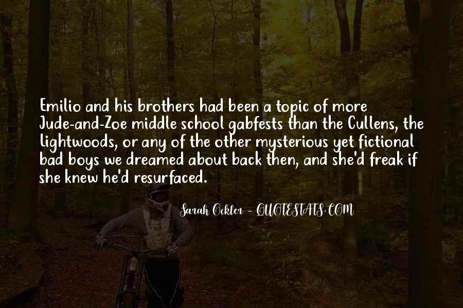 Sarah Ockler Quotes #431639