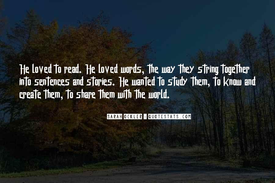 Sarah Ockler Quotes #49169