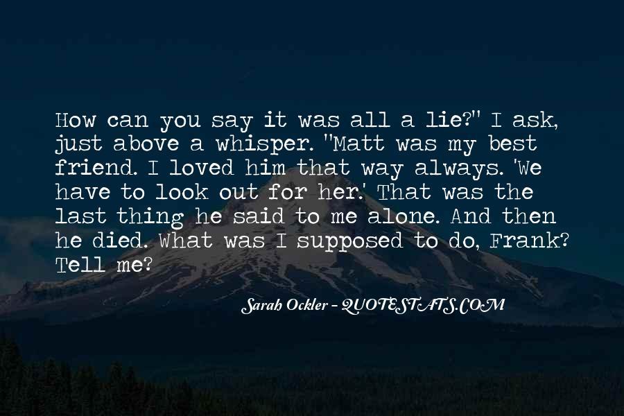 Sarah Ockler Quotes #604073