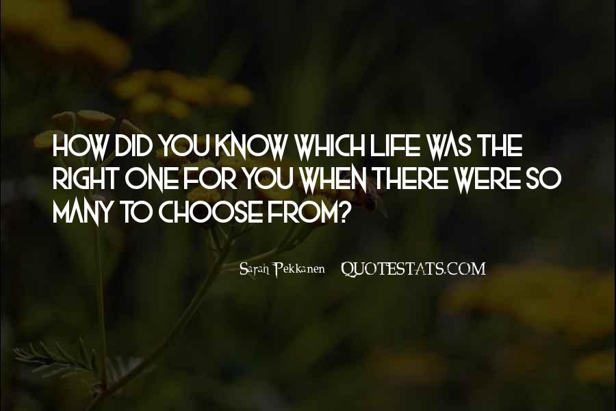 Sarah Pekkanen Quotes #537465