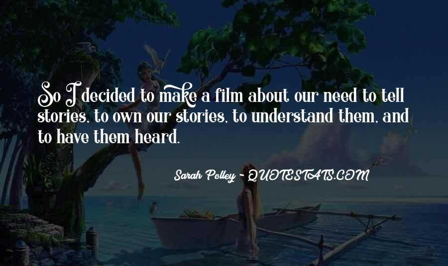Sarah Polley Quotes #1564452