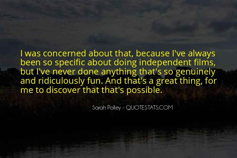 Sarah Polley Quotes #776235