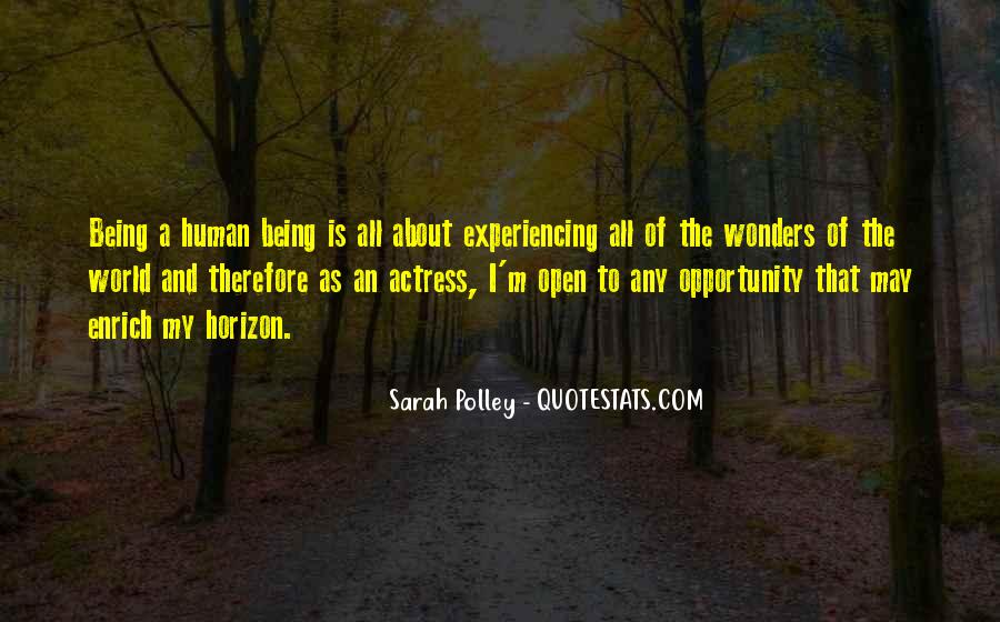 Sarah Polley Quotes #84001