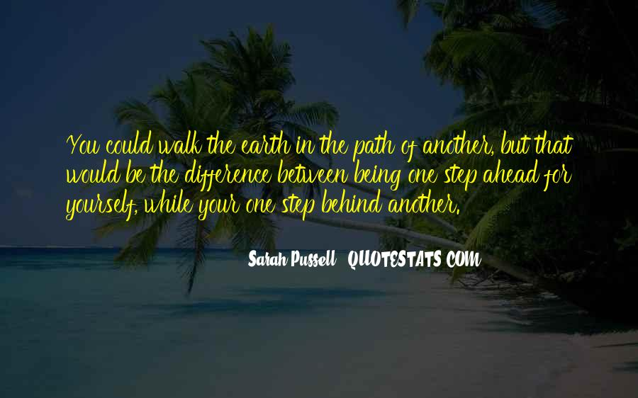 Sarah Pussell Quotes #1025324