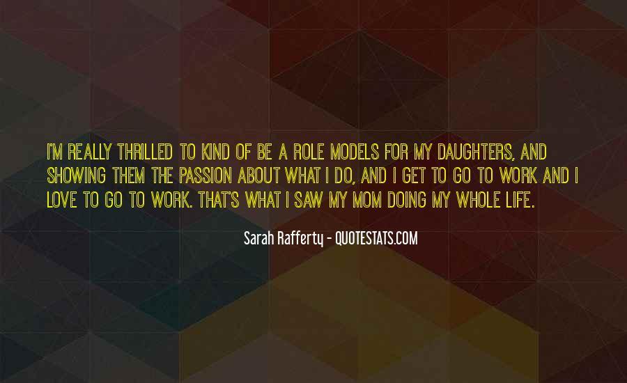 Sarah Rafferty Quotes #332174
