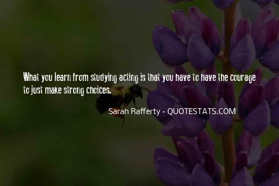 Sarah Rafferty Quotes #337895
