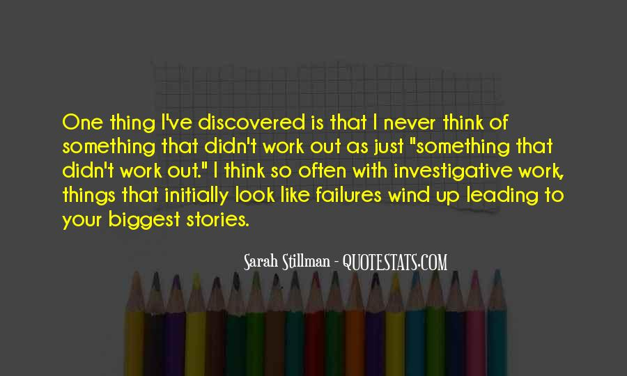 Sarah Stillman Quotes #101824