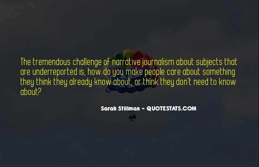 Sarah Stillman Quotes #1341628