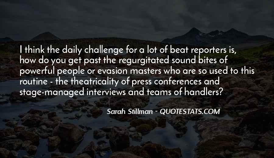 Sarah Stillman Quotes #1414231