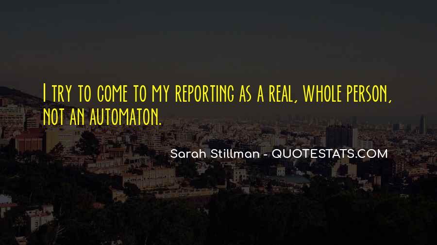 Sarah Stillman Quotes #1723872