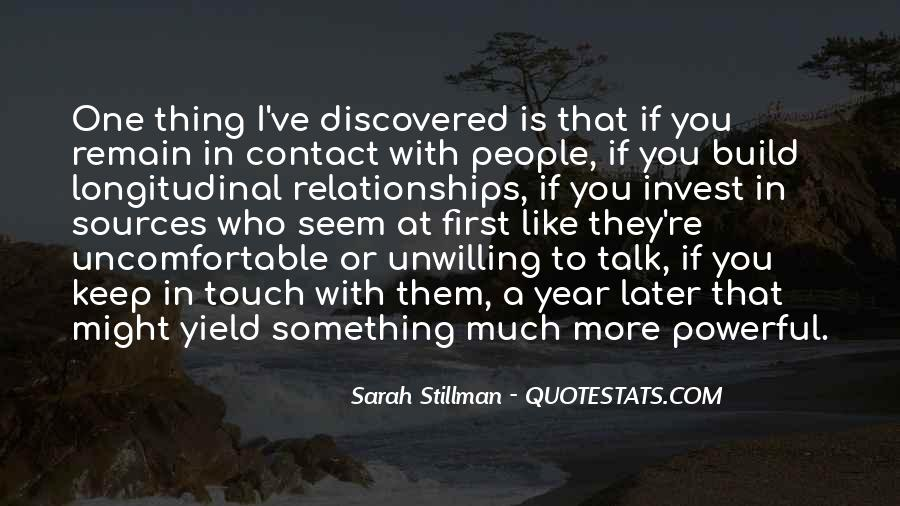 Sarah Stillman Quotes #382349