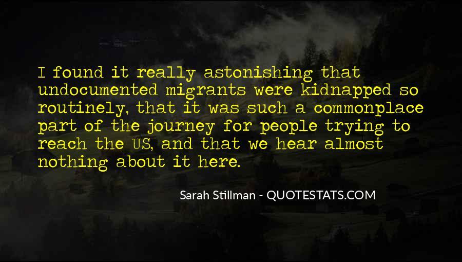 Sarah Stillman Quotes #468878