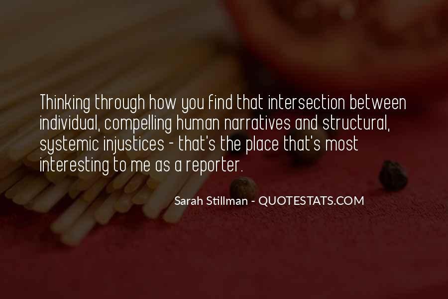Sarah Stillman Quotes #891395
