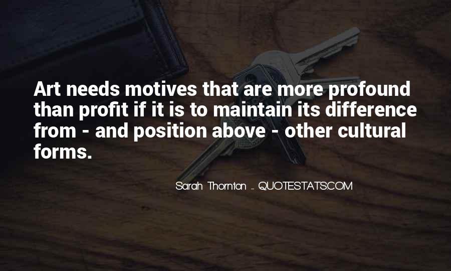 Sarah Thornton Quotes #1201934