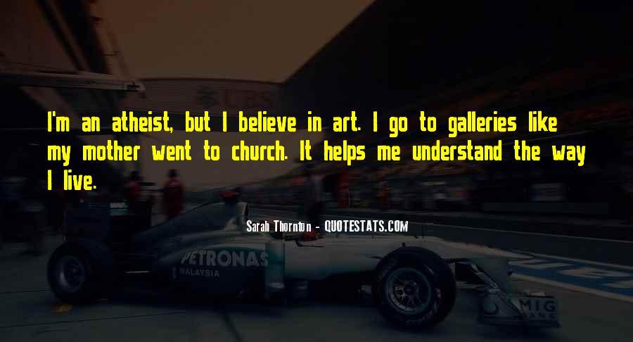 Sarah Thornton Quotes #1705341