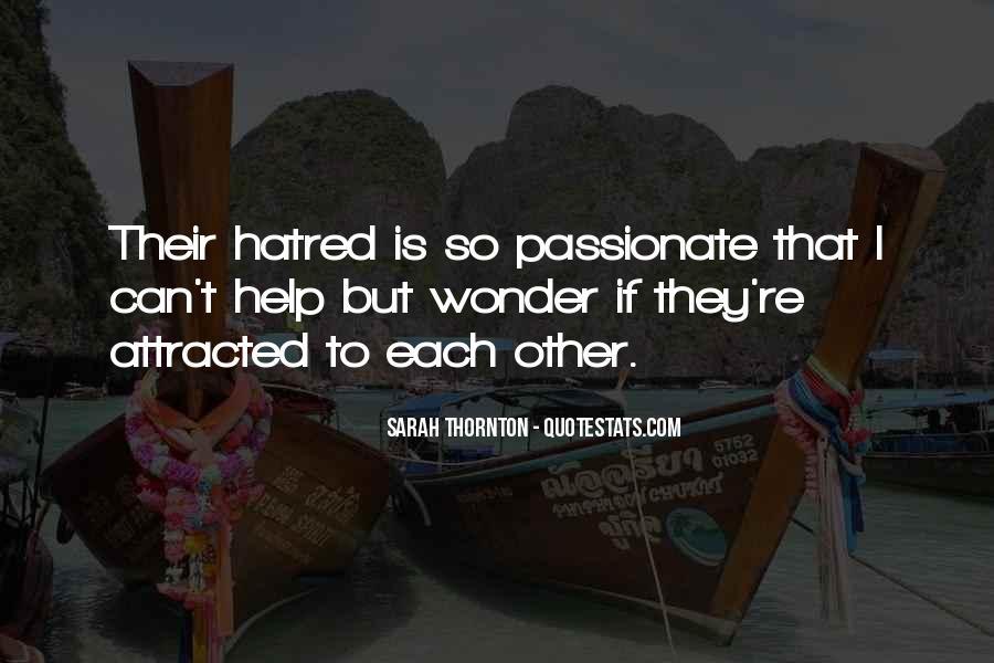 Sarah Thornton Quotes #905168