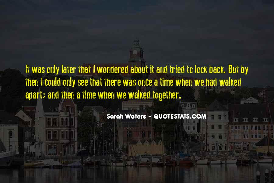 Sarah Waters Quotes #1041444