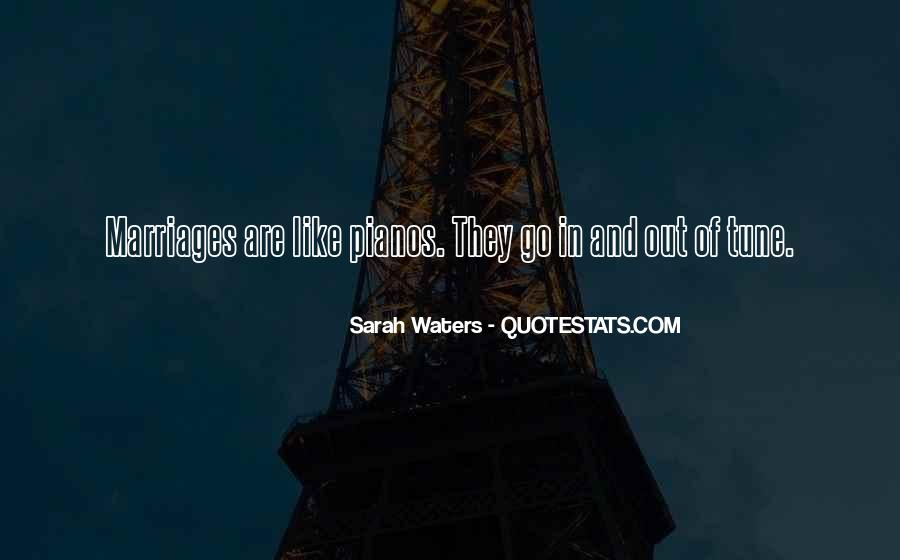 Sarah Waters Quotes #104883