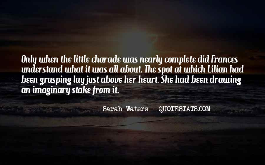 Sarah Waters Quotes #1089869
