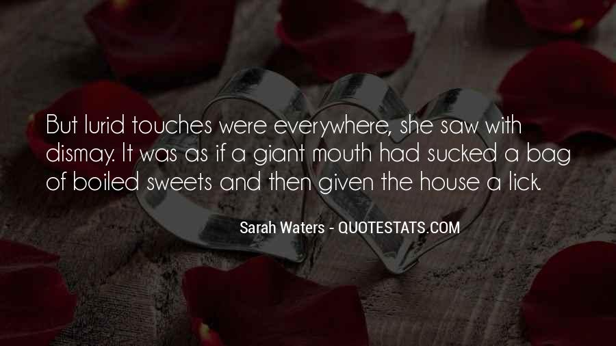 Sarah Waters Quotes #1322035