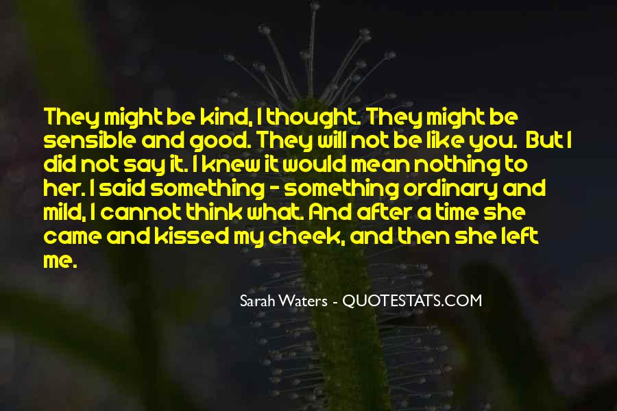Sarah Waters Quotes #153166