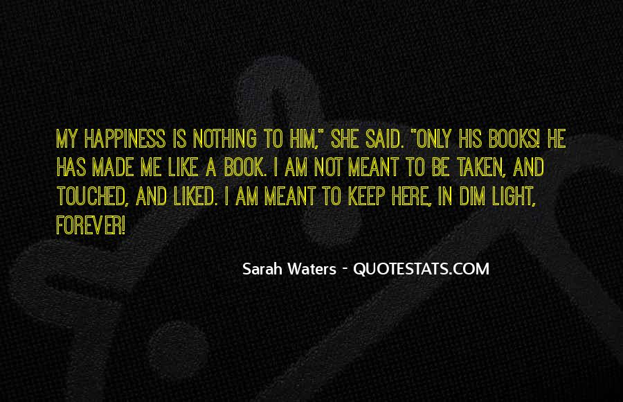 Sarah Waters Quotes #1736914