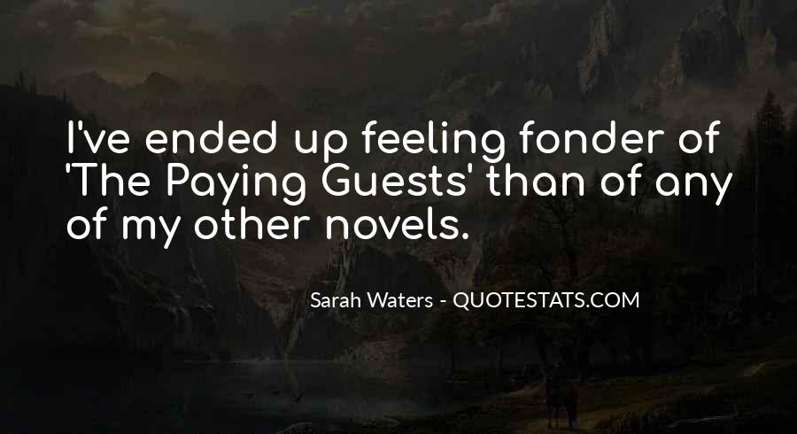 Sarah Waters Quotes #1758629