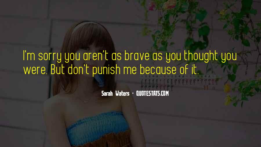 Sarah Waters Quotes #1814454