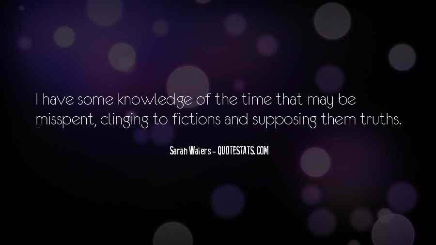 Sarah Waters Quotes #1831951