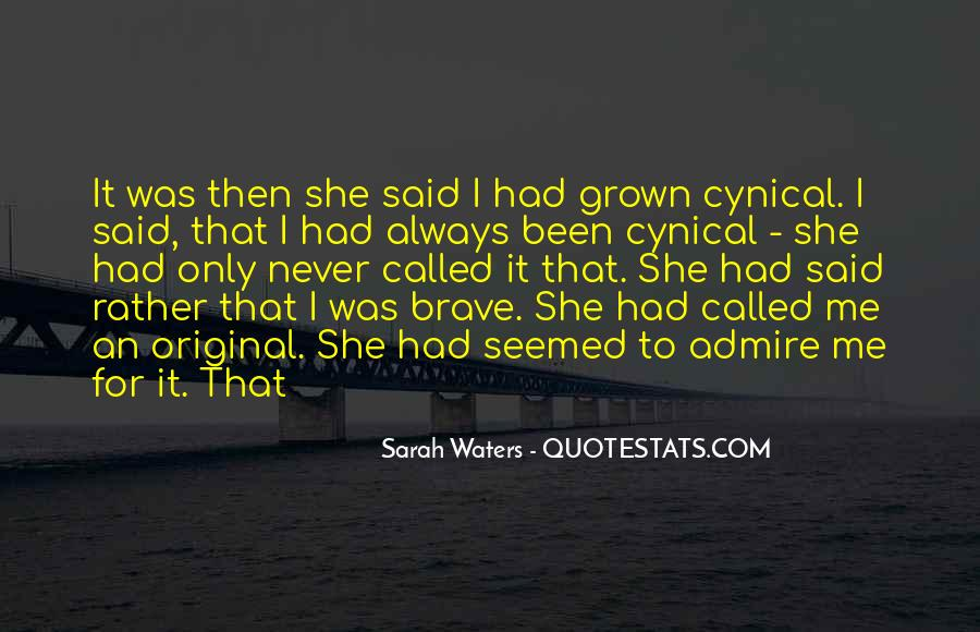 Sarah Waters Quotes #241978