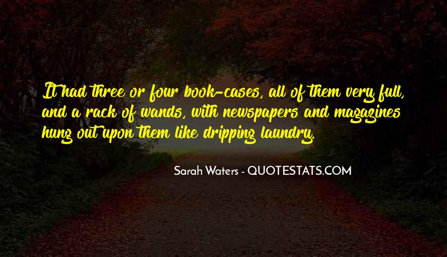 Sarah Waters Quotes #262680