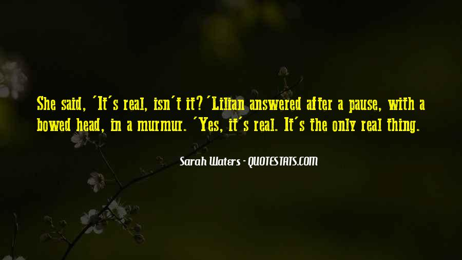 Sarah Waters Quotes #291474